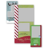 Happy Holidays 4x8 Portrait Photo Card Templates