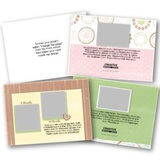 Baby 5x7 Landscape Folded Card Templates
