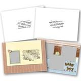 Baby II 5x7 Landscape Folded Card Templates