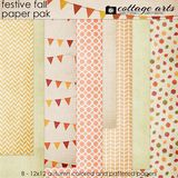 Festive Fall Paper Pak
