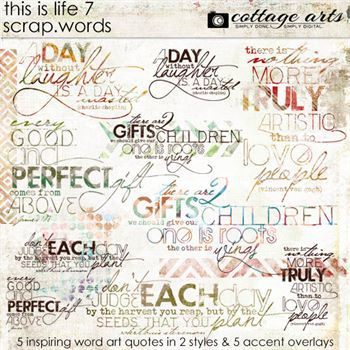 This Is Life 7 Scrap.words