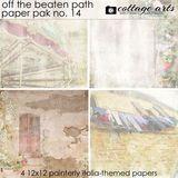 Off The Beaten Path 14 Paper Pak