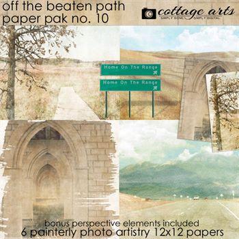 Off The Beaten Path 10 Paper Pak