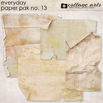 Everyday 13 Paper Pak