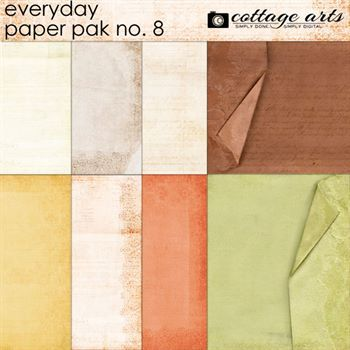 Everyday 8 Paper Pak