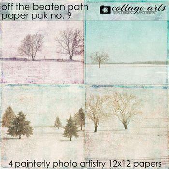 Off The Beaten Path 9 Paper Pak