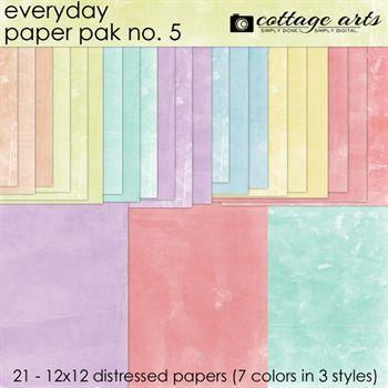 Everyday 5 Paper Pak