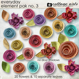 Everyday Element Pak 3 - Flowers