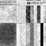 Blanc De Noir Paper Pak 5