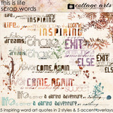 This Is Life Scrap.words