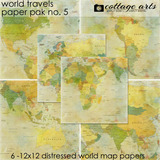 World Travels 5 Paper Pak