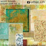 World Travels 6 Paper Pak