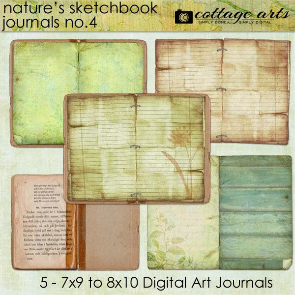 Nature's Sketchbook - Journals 4