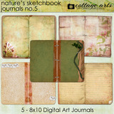 Nature's Sketchbook Journals 5