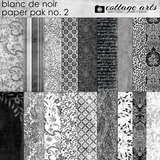 Blanc De Noir Paper Pak 2