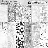 Blanc De Noir Paper Pak 3
