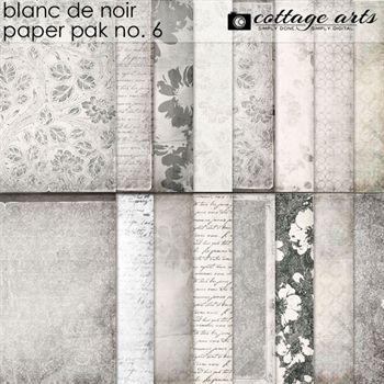 Blanc De Noir Paper Pak 6