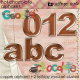 Hot Chocolate Alphaset