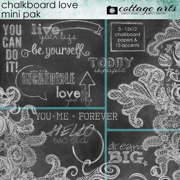 Chalkboard Love Mini Pak