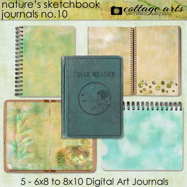 Nature's Sketchbook - Journals 10