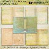 Nature's Sketchbook - Journals 13