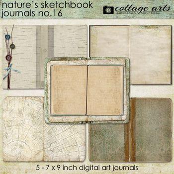 Nature's Sketchbook - Journals 16