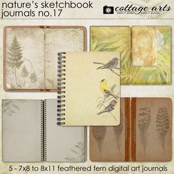 Nature's Sketchbook - Journals 17