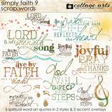 Simply Faith 9 Scrap.Words