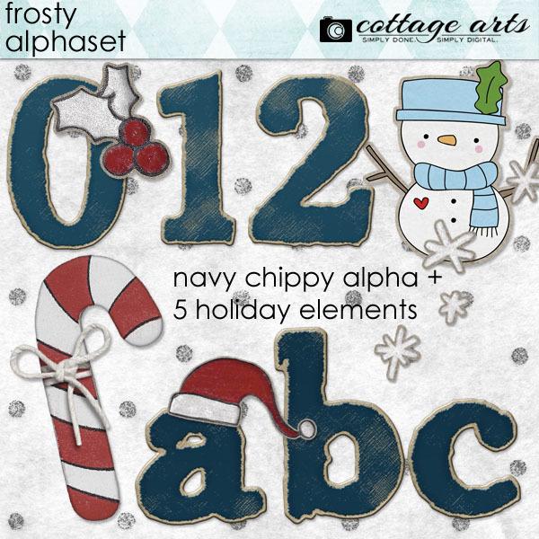 Frosty AlphaSet Pak