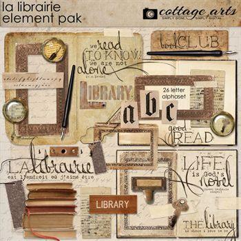 La Librairie Element Pak