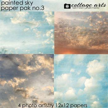 Painted Sky 3 Paper Pak
