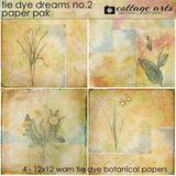 Tie Dye Dreams 2 Paper Pak