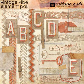 Vintage Vibe Element Pak