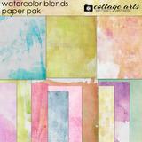 Watercolor Blends Paper Pak