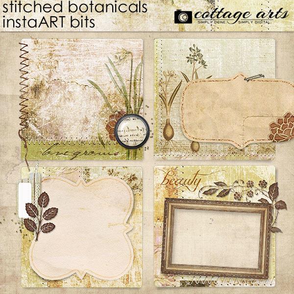 Stitched Botanicals InstaART Bits