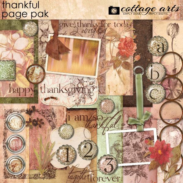 Thankful Page Pak