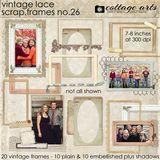 Scrap.frames 26 - Vintage Lace