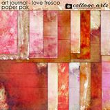 Art Journal - Love Fresco Paper Pak