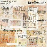 Traveling Soul Mini Page Pak