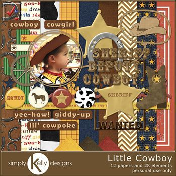 Little Cowboy Kit