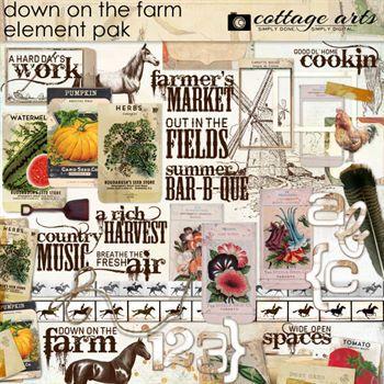 Down On The Farm Element Pak