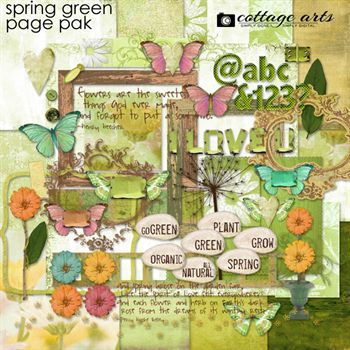 Spring Green Page Pak
