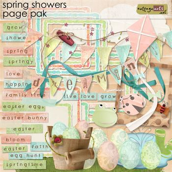 Spring Showers Page Pak