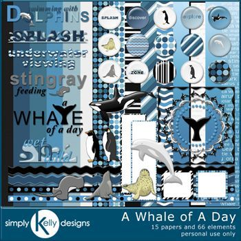 A Whale Of A Day Kit