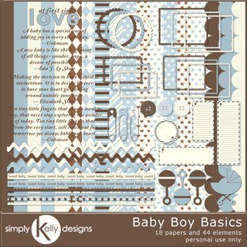 Baby Boy Basics Kit