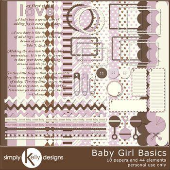 Baby Girl Basics Kit