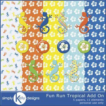 Fun Run Tropical Addon