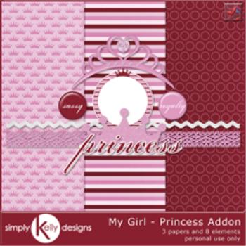 My Girl Princess Addon