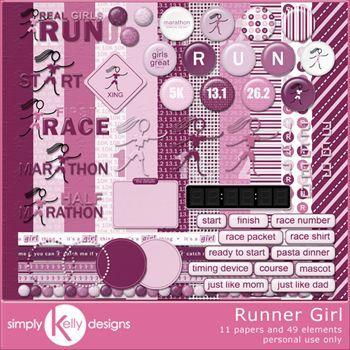 Runner Girl Kit