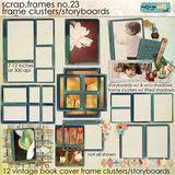 Scrap.frames 23 - Frame Clusters & Storyboards